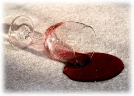 red wine stain removal from carpets